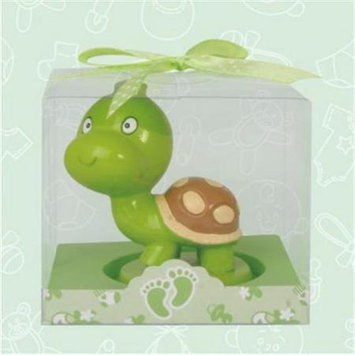 De Yi Enterprise De Yi 11006-GN Turtle Candle Favors - Set of 12