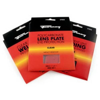 4 1/2 By 5 1/4 Plastic Lens 57055 by Forney Industries