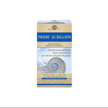 Solgar Probiotics Probi 20 Billion 30 Vegetable Capsules