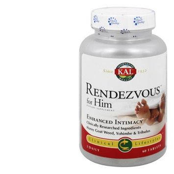 KAL Rendezvous For Him - 60 Tablets - Male Intimacy Herbs