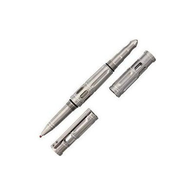 Krudo Knives KRBTNS Krubaton Tactical Pen Brushed Titanium Housing