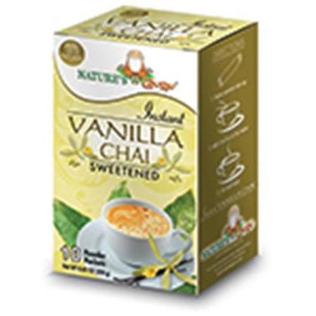 Nature's Guru Natures Guru Vanilla Chai Sweetened Drink Mix - Pack Of 8