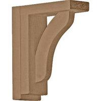 Ekena Millwork 2.5-in x 7.5-in Cherry Reece Shelf Wood Corbel