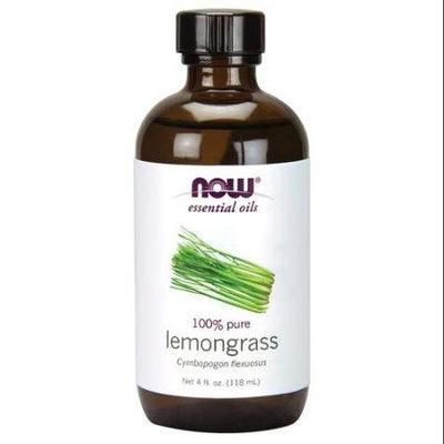 NOW Foods - 100 Pure Lemongrass Oil - 4 oz.