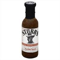 Stubb's Stubbs 12 oz. Spicy Texas Peach Anytime Sauce - Case Of 6