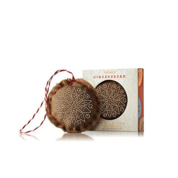 Thymes Scented Ornament Sachet. Gingerbread