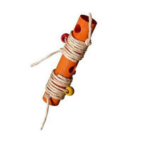 Caitec XL Loadable Firecracker 7.5in x 1.5in Bird Toy