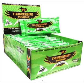 Thunderbird Energetica - Gluten Free Raw Energy Bar Cacao Hemp Walnut - 1.7 oz.