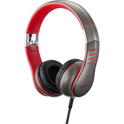 Casio - XW-H1 - Over Ear Headphones, Red
