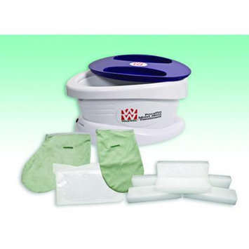 WaxWel 11-1603 Paraffin Bath Unit Includes 6 Lb. Wintergreen Paraffin 100 Liners