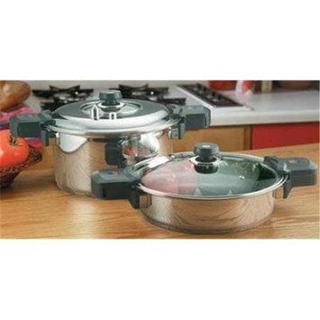 Precise Heat 12-Element Low Pressure, Pressure Cooker