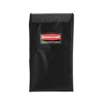 Rubbermaid Commercial Collapsible X-Cart Replacement Bag, 4 Bushel, 220 Lbs, Vinyl, Black