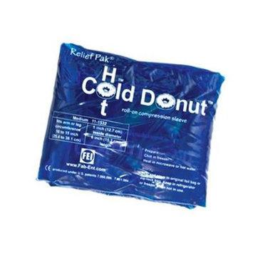 Fabrication Enterprises 11-1532 Relief Pak Cold N Hot Donut Compression Sleeve - Medium