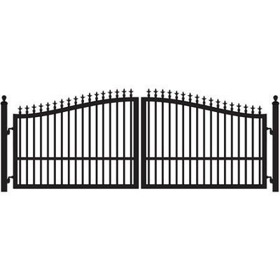 Mighty Mule St. Augustine 14' Double Leaf Driveway Gate