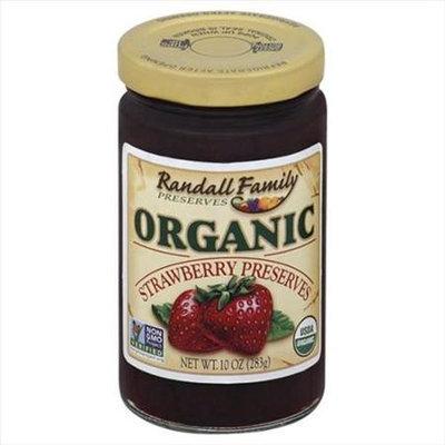 Randall Family Preserves 10 oz. Organic Strawberry Preserves Case Of 6