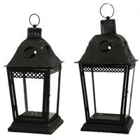 A & B Home Group Inc French Chic Garden 2 Piece Lantern Set