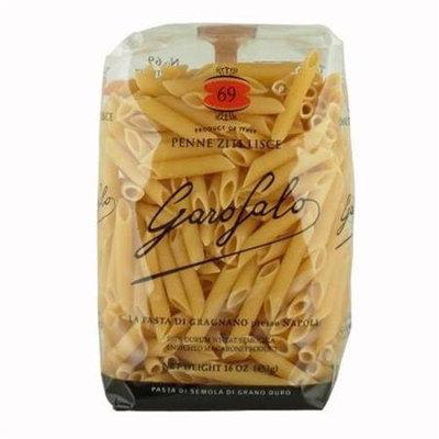 Garofalo Pasta S69 Penne Ziti Lisce Pasta Case Of 20 - 1 lb. Boxes