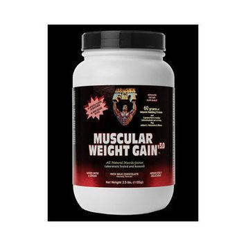 Healthy'N Fit Nutritionals Muscular Weight Gain v30 Rich Milk Chocolate 2.5 lbs