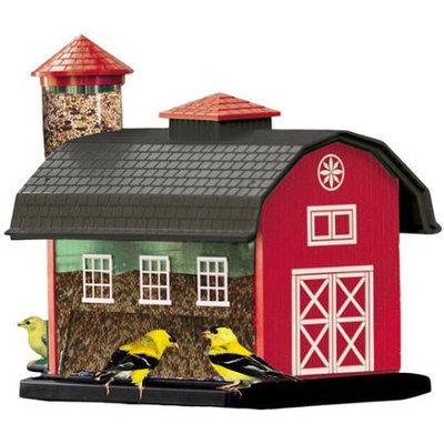 Heritage Farms Red Barn Combo Feeder NA6290 by Woodlink