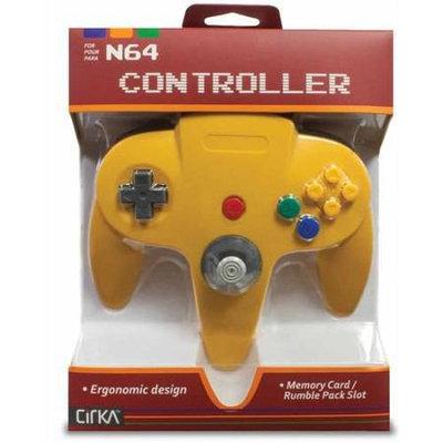 Hyperkin Cirka N64 Controller Yellow - Retail
