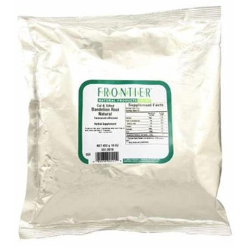 Frontier Natural Products Dandelion Root Natural Cut & Sifted 16 oz