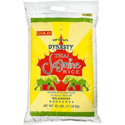 Dynasty: Thai Jasmine Rice, 25 Lb