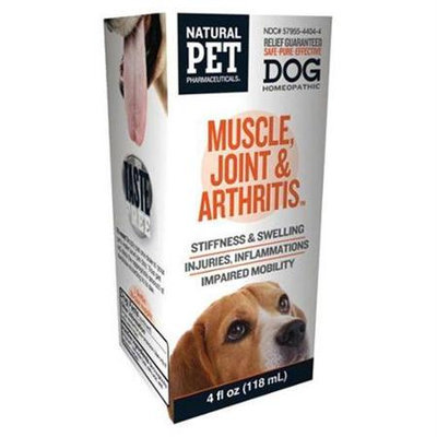 King Bio Homeopathic Natural Pet Dog - Muscle Joint and Arthritis - 4 oz - 1383769