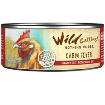 Best Friend Products Corp Wild Calling Cabin Fever Chicken Can Cat Food 24Pk