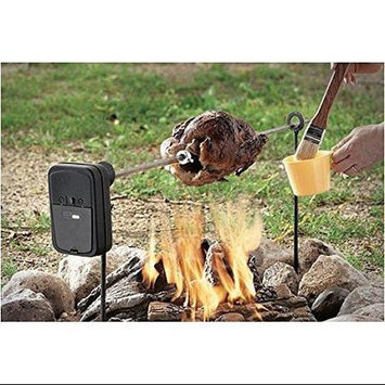 Woodeze 6BBMT0311 Grizzly Spit Campfire Rotisserie System