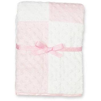 Spasilk RB DOT 03 Raised Dot Blanket Pink