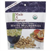 Made In Nature 6 oz. Organic Mulberries - Case Of 6
