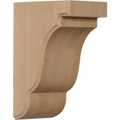 Ekena Millwork 3.5-in x 7.5-in Red Oak Bedford Wood Corbel