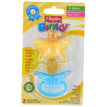 Playtex 5602 Binky Comfort Flex Pacifier, Assorted Colors