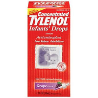 Tylenol® Infants' Concentrated Pain Reliever Grape Drops