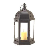 Koolekoo Home Locomotion 10015225 Circle Cutouts Candle Lantern