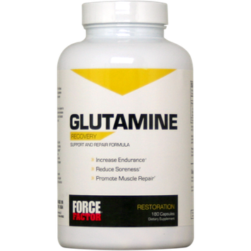 Force Factor - Glutamine Recovery - 180 Capsules