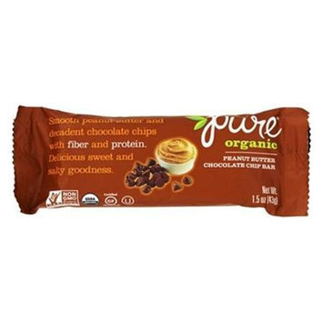 PureBar - Pure Organic Fruit and Nut Bar Peanut Butter Chocolate Chip - 1.5 oz.