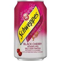 Schweppes Seltzer Water Black Cherry