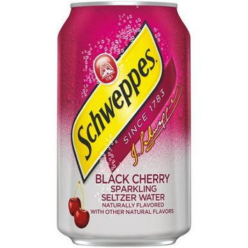Schweppes Seltzer Water Black Cherry
