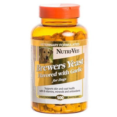 NUTRI-VET BREWERS YEAST WITH GARLIC 500 COUNT-103783
