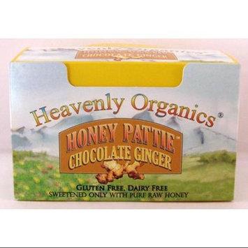Honey Pattie Chocolate Ginger-Box Heavenly Organics 40 Pieces 1 Box