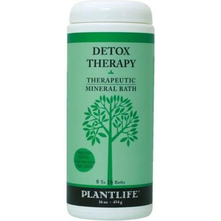 Plantlife Natural Body Care - Therapeutic Mineral Bath Detox Therapy - 16 oz.