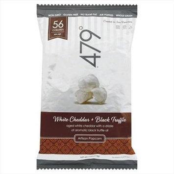 479 Degrees 4 oz. Organic Gourmet Popcorn - Black Truffle & White Cheddar Case Of 10