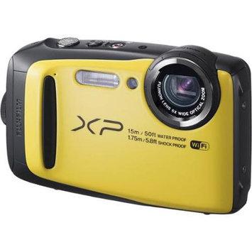 Fuji FinePix XP90 Digital Camera, Water/Shock/Freeze/Dustproof - Yellow