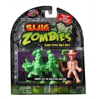 Jakks Pacific S.L.U.G. Zombies Wave 2 Stu B' You, Mash-Up, Gator Jones