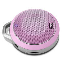JBL Micro Wireless Bluetooth Speaker (Pink)