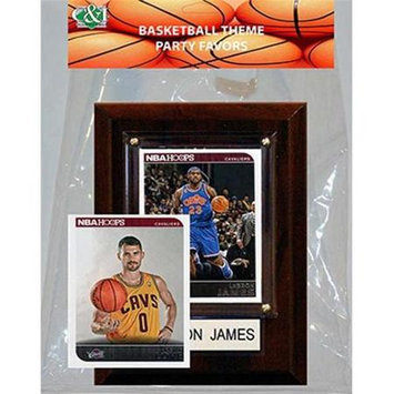 Candicollectables Candlcollectables 46LBCAVS NBA Cleveland Cavaliers Party Favor With 4 x 6 Plaque