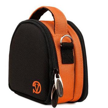 VanGoddy Orange Mini Laurel Camera Case