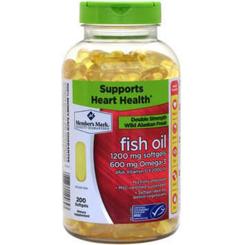 Member's Mark Double Strength Wild Alaskan Fresh Fish Oil