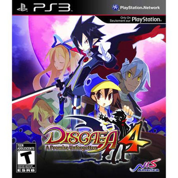 Disgaea 4: A Promise Unforgotten Playstation3 Game NIS America